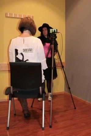 Intervju i Skrivarpodden